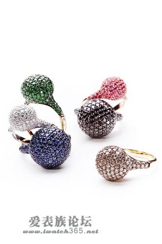 设计师系列珠宝甄选 摄取自然美感