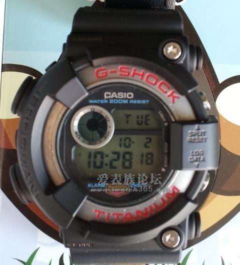 请问下蛙人dw8200跟dw9900外壳表带