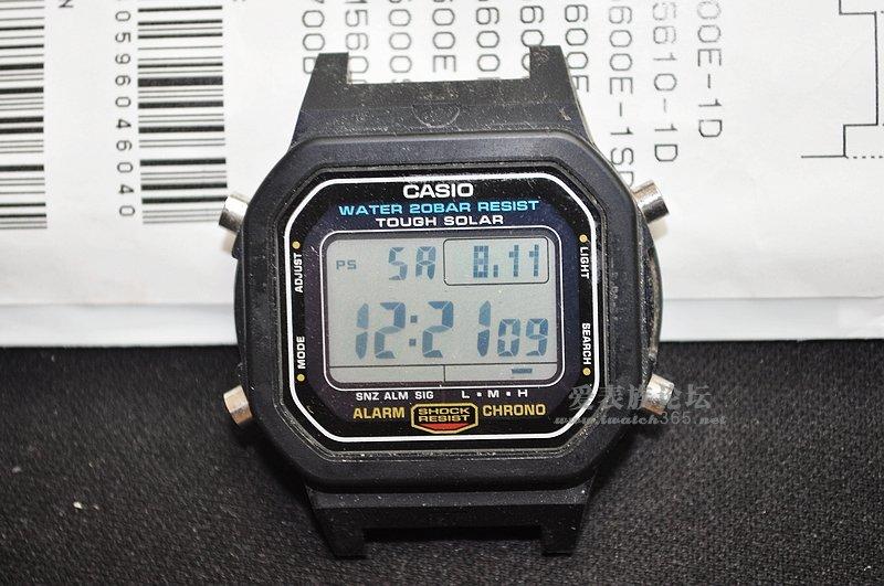 g5600e换表带-坚持了七年