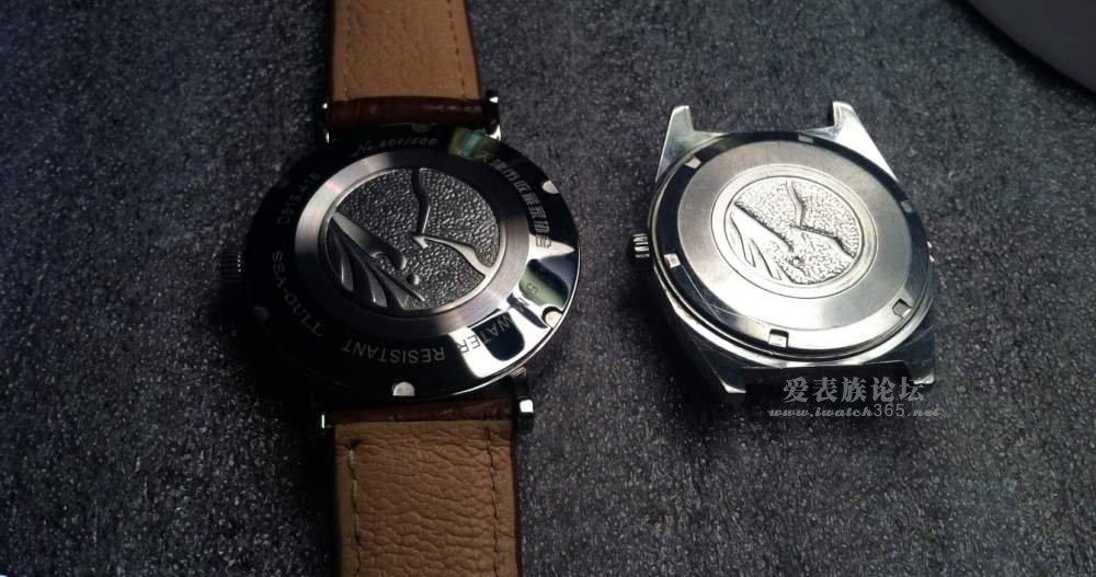 将手表表壳,表镜等处理后整体安装完毕