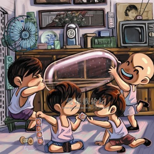 动漫 卡通 漫画 头像 游戏截图 500_500