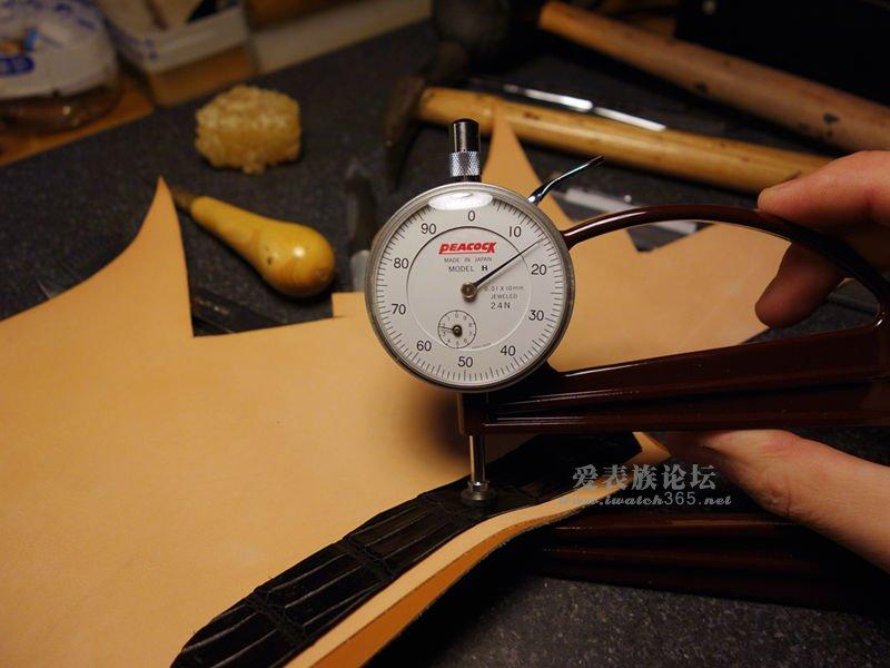 一条手工表带制作过程,沛纳海 - 爱表族
