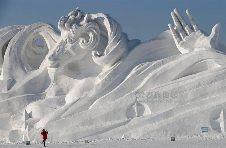 2014哈尔滨冰雕节,东北分会