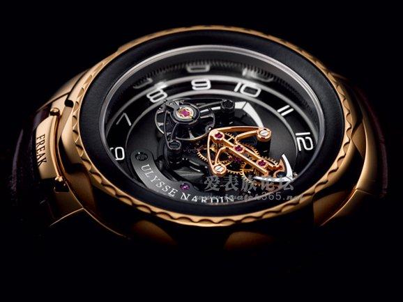 """该款表的设计概念和技术在钟表界也是史无前例,没有表盘和指针,""""图片"""