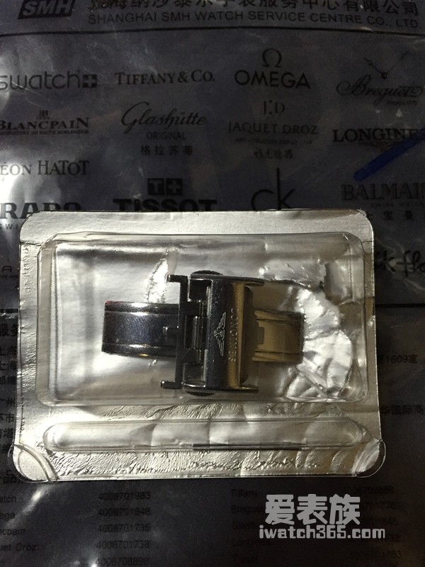 爱表族图库--出20mm皮表带的原装蝴蝶扣(已出)