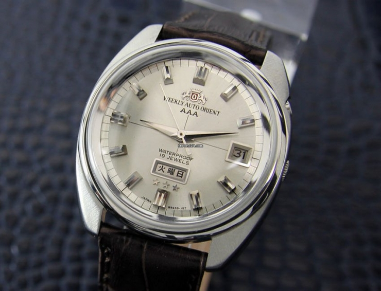 Mens Orient AAA 38mm Automatic 21 jewels