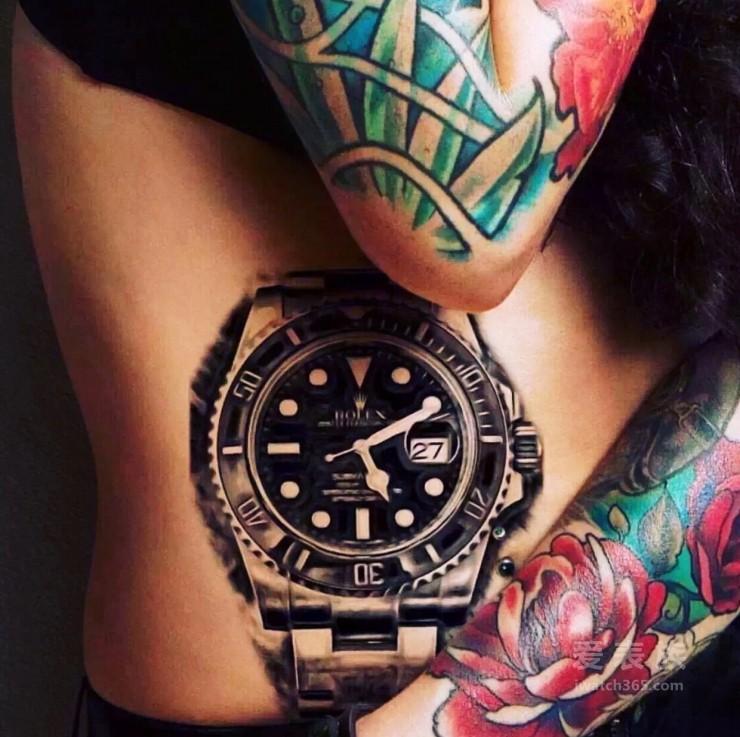 爱表族图库--纹身