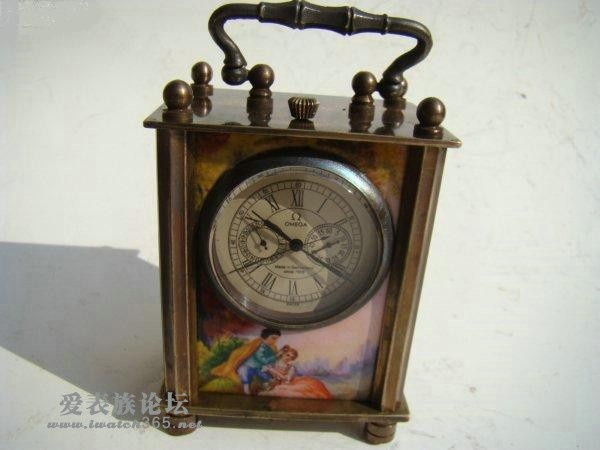 一个老的omega座钟,欧米茄 - 爱表族图片