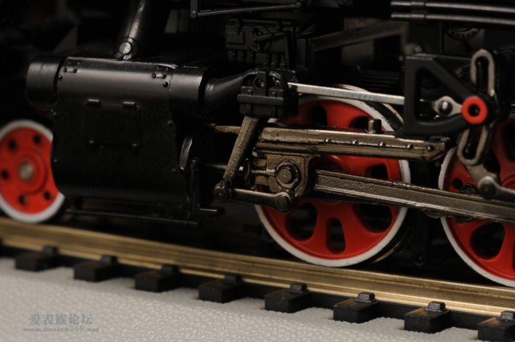 火车模型 4 前进型蒸汽机车