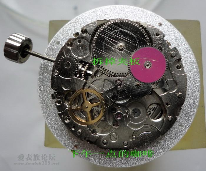手表把拆卸步骤图