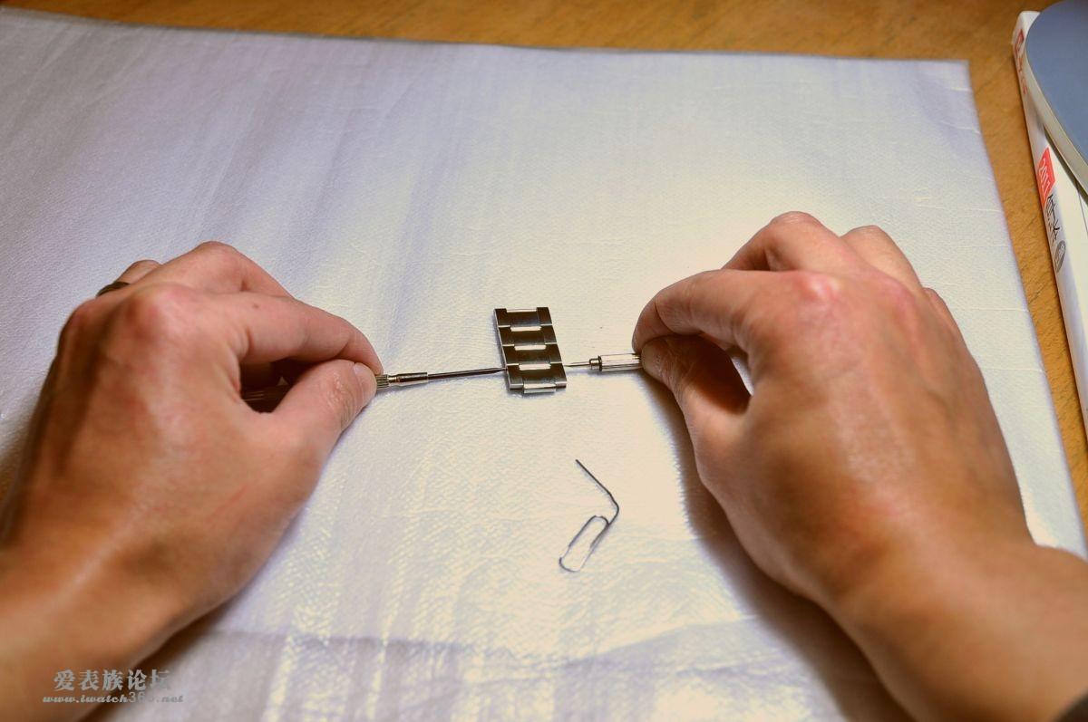 截短钢表带的操作方法