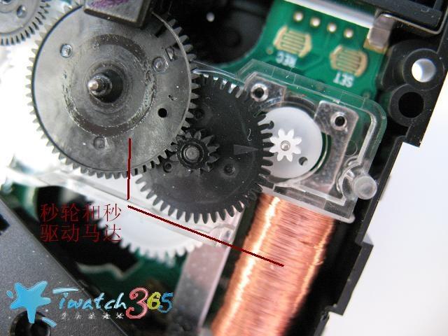 电路和红外控制和石英钟表~~~这就是所谓的电波钟