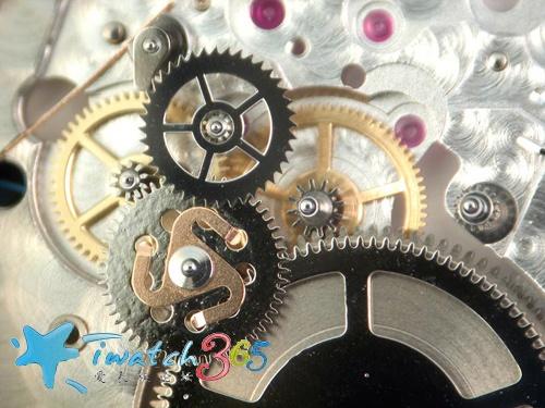 钟表内部结构链条传动