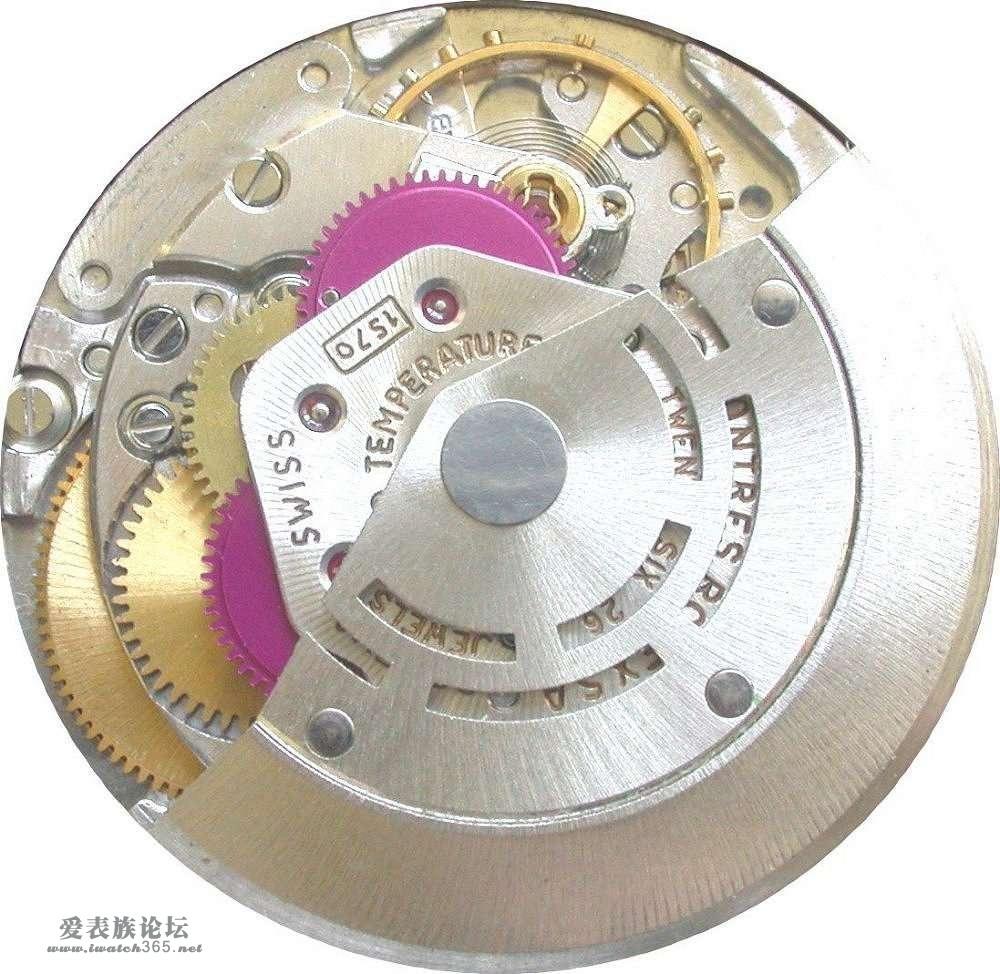 机芯结构及详解(2008年7月2日最后更新)