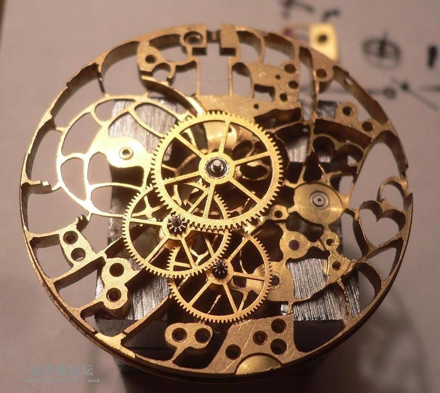 机械表组装步骤图片