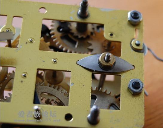 闹钟零件的结构图