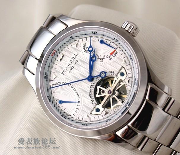想入手一块海鸥手表m170sp和m163s 不知道怎么选择~高手指教