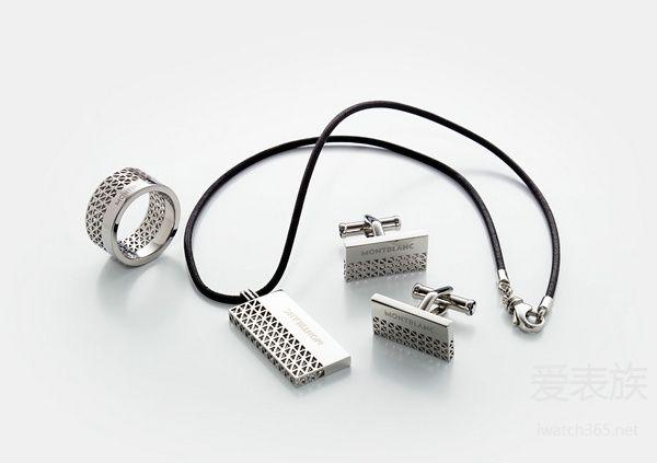 万宝龙男士珠宝图案设计系列和现代融合系列