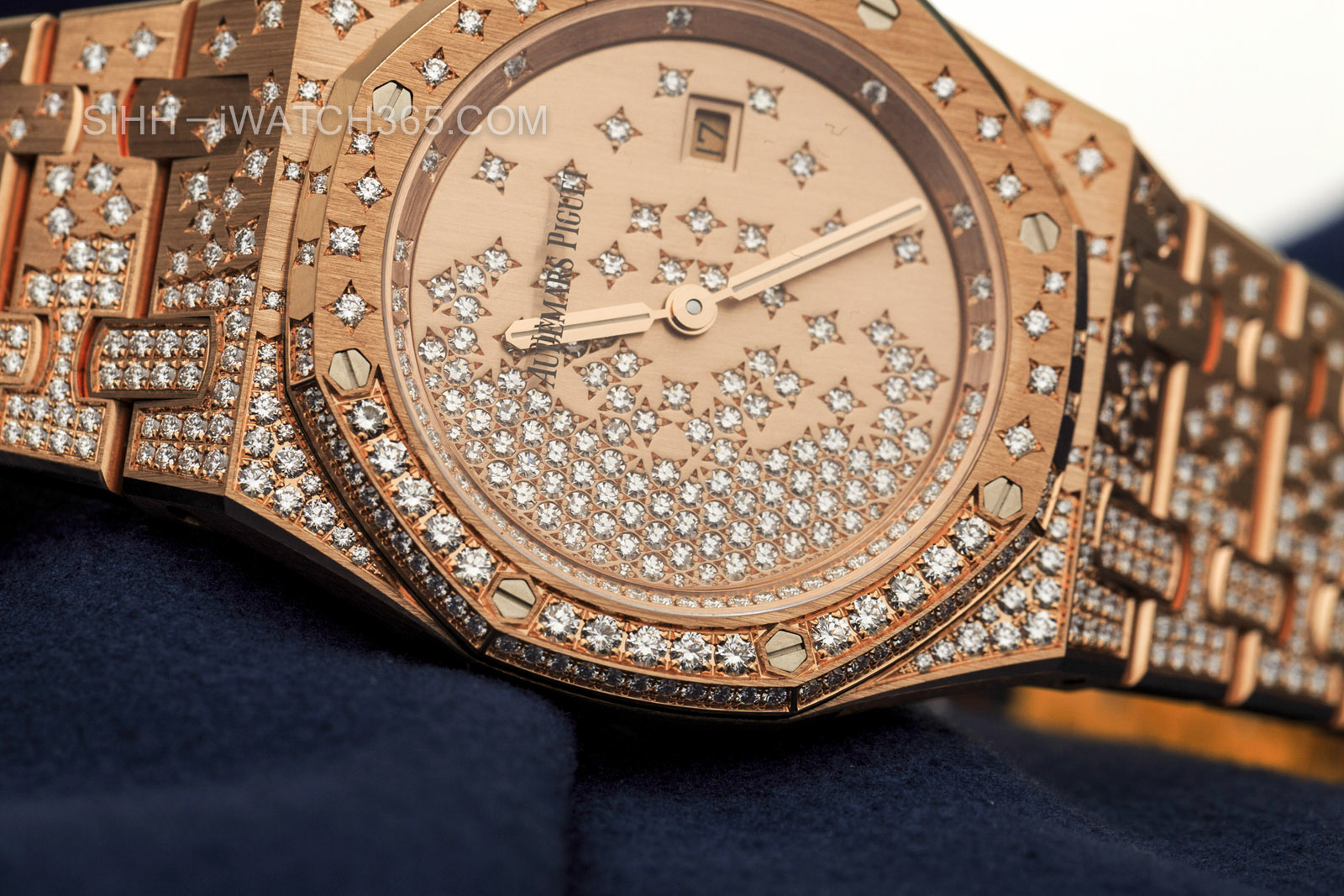 Audemars Piguet Royal Oak diamonds replica watch