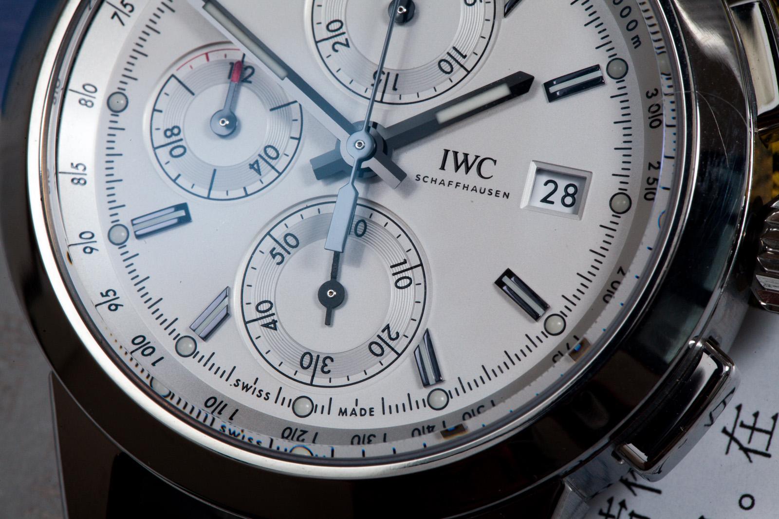 萬國工程師系列iw380701計時男表手表詳情圖片